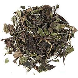 Aromas de Té - Té Blanco Pai Mu Tan Chai a Granel con Canela, Anís, Jengibre, Pimienta Negra, Clavel, Achicoria, Cardamomo y Cártamo, 30 gr.