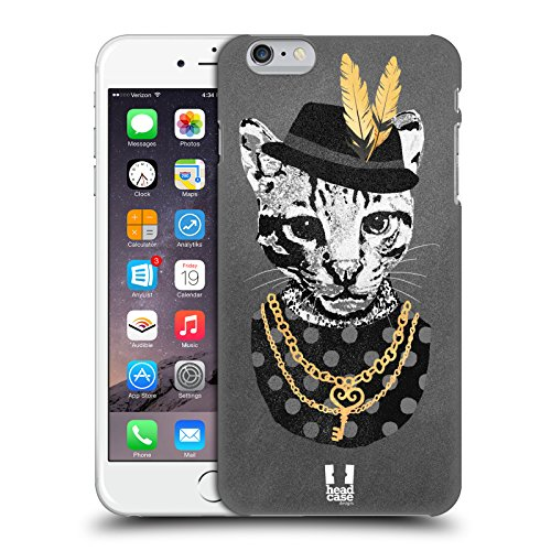 Head Case Designs Waschbär Super Posh Ruckseite Hülle für Apple iPhone 6 Plus / 6s Plus Ozelot