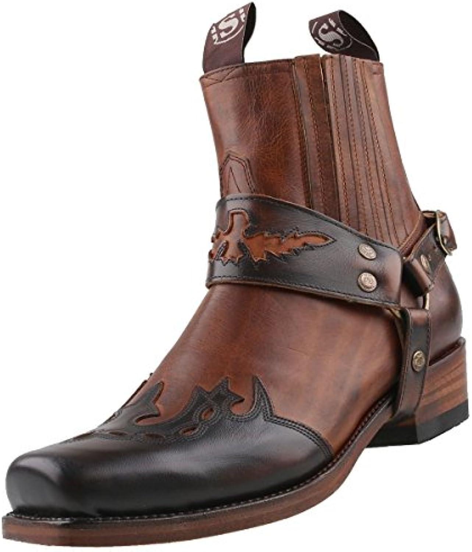 Sendra Cowboy Stiefelette 7811 BraunSendra Cowboy Stiefelette Braun Schuhgröße Billig und erschwinglich Im Verkauf