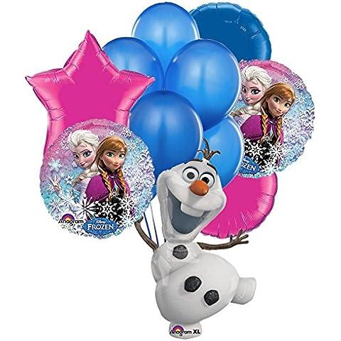 Globo aluminio Olaf Frozen