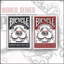Bicycle WSOP World Series Poker Tour - Red Back - Tarjeta Juegos - Trucos Magia y la magia
