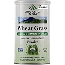 Organic India Wheat Grass Powder - 100 Grams