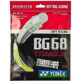 Yonex BG-68 Ti Yellow Badminton String