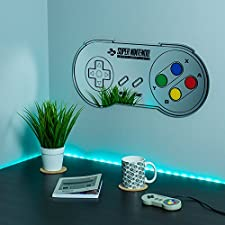 "Nintendo"" SNES Controller Mirror, Multi-Colour, 29.6 x 62.9 x 2 cm"