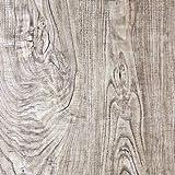 KYKDY Weinlese-Imitat-hölzerne Tapete-selbstklebendes Lt. Brown-hölzerner Planken-Aufkleberwohnzimmer Möbel-Aufkleberdekoration, hellgrau, Vereinigte Staaten