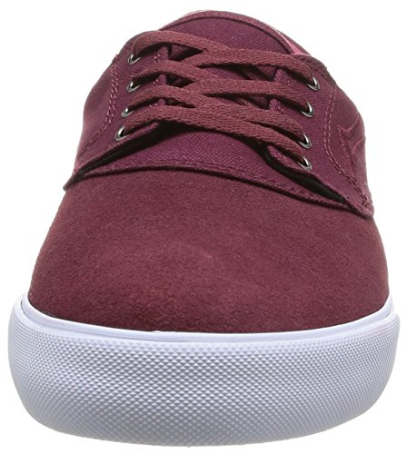 Lakai Camby, Chaussures de skateboard homme Rouge (Oxblood Suede)