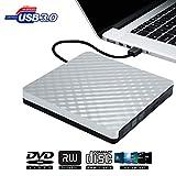 Lecteur CD/DVD Externe - DVD CD Graveur Externe USB 3.0 Portable RW ROM Transmission...