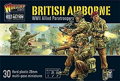 Bolt Action - British Airborne WWII Allied Paratroopers (30) (28mm Scale) (Warlord Games)