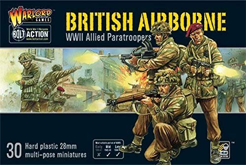 British Airborne WWII Allied Paratroopers -