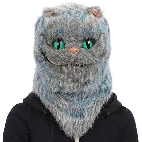 Katze Maske Halloween (CoolChange realistische Voll Tier Maske,)