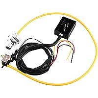 Qiilu Válvula de descarga eléctrica Turbo Diesel del coche Válvula de soplado BOV Kit Simulador de sonido