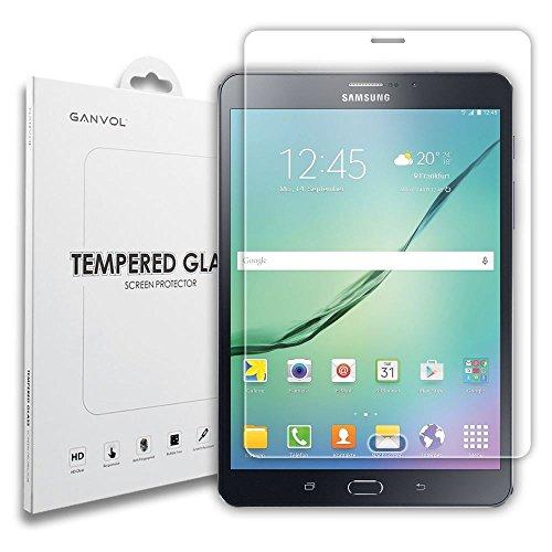 Ganvol Premium gehärtetes Glas Displayschutzfolie für Samsung Galaxy Tab S28.0t715N B600Fotohandys T710