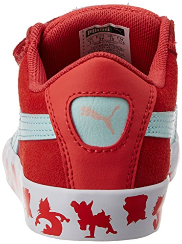 Puma  Puma S Vulc Tom & Jerry Kids, Sneakers basses mixte enfant Rose (Cayenne/Clearwater)