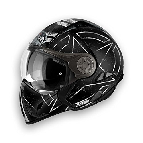 CASCO MODULARE J106 COMMAND BLACK MATT M
