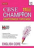 11 Years (2007-17) CBSE Champion: Chapterwise Topicwise - English Core (Class 12)