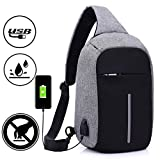 Kriva Polyester Grey,Black Laptop Backpack