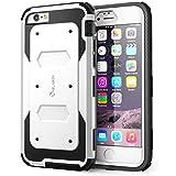 i-Blason Apple iPhone 6 / 6S (4.7 Zoll) Hülle Armorbox Case Outdoor Handyhülle Stoßfest Schutzhülle Bumper Cover mit integriertem Displayschutz, Weiß