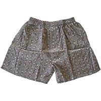(L) boxeadores boxeador Boxershort Shorts ropa interior Mujer Chica chico hombres elefante gris plata