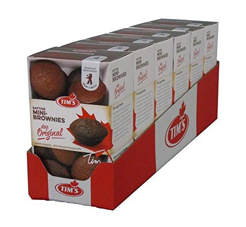 Tims Mini Brownies Das Original Kakao Schokolade Kolli (6x200g) Schokolade Kanada