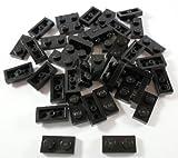 LEGO BRICKS–Bügeleisen (40Stück), 1x 2Türen, schwarz