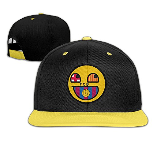 wyuzhen-kids-futbol-club-barcelona-hip-hop-snapback-hat-caps-yellow