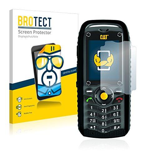 BROTECT Schutzfolie kompatibel mit Caterpillar Cat B25 [2er Pack] - kristall-klare Bildschirmschutz-Folie, Anti-Fingerprint