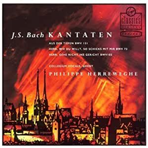 Bach: Cantatas BWV 131, 73 & 105 by unknown (2001-03-06)
