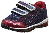 Geox Baby Jungen B Todo Boy B Sneaker, Blau (Navy/redc0735), 24 EU