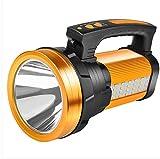 Lampe de poche lumineuse rechargeable, tir à longue portée 500m et au-dessus de la lampe au xénon extérieur Home LED projecteur portable