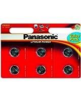 Panasonic Specialist Lithium Knopf Batterien CR2032 x 12