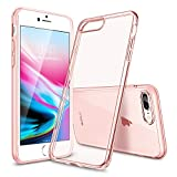 ESR Coque iPhone 8 Plus, Coque iPhone 7 Plus Silicone, Coque Transparente Gel...