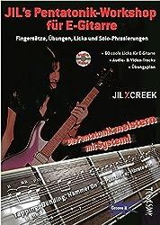 Jil's Pentatonik-Workshop für E-Gitarre - Lehrbuch mit Audio/Video CD