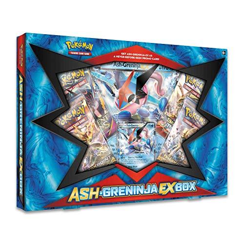 Pokemon TCG - Ash-Greninja-EX Box