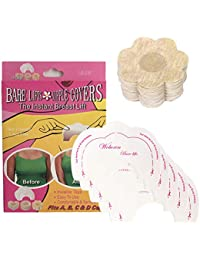 Woboren Mujer Desechable Nipple Covers Pegatinas Pezón & Autoadhesivo Invisible Instant Bare Lift Breast Enhancer Tape