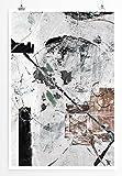 Hand Of Fate - modernes abstraktes Bild Sinus Art - Bilder, Poster und Kunstdrucke