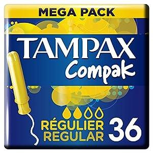 Tampax Compak Normal Tampons mit Applikator aus Kunststoff