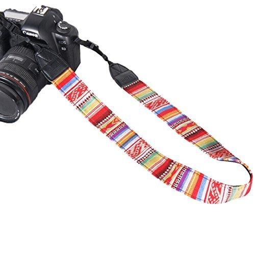 Andux Zone Multicolor Del Collo della Cinghia Di Spalla Cinghia della Fotocamera per Canon Nikon XJ/BD 05