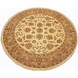 Runder Orient Teppich Ziegler 215 cm Ø Beige - feine Qualität - moderner Teppich oriental round carpet best quality