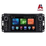 wekuo Android 7.1Auto DVD Player für Jeep Grand Wrangler Patriot Kompass Journey Dodge Ram Caliber, Challenger Radio GPS Stereo
