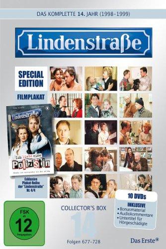 Lindenstraße - Das komplette 14. Jahr (Ltd. Edition mit Filmplakat, 10 DVDs)