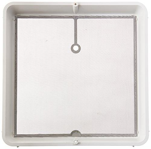 HengS 's 90106-c1Dach Vent Screen Rahmen, 35,6x 35,6cm-Weiß