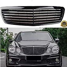 Parrilla delantera completa negra para Benz W211 Clase E E320 E350 E500 E55 2002-2006