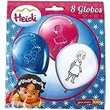Heidi - Pack de 8 globos (Verbetena 016000667)