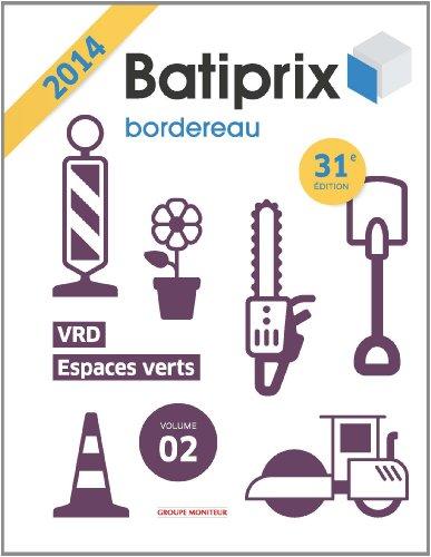 Batiprix vol 2 VRD espaces verts