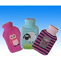 Kinder 1L Wellness Wärmflasche mit Kuschelbezug Bettflasche Wärmetherapie im 3 Kinderdesign preisvergleich bei billige-tabletten.eu