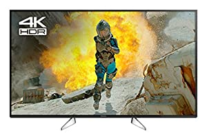 Panasonic TX-49EX600B 49-Inch 800 Hz Widescreen 4K Ultra HD Smart LED TV with Freeview Play (2017 Model)