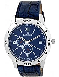 HASHTAG Analogue Blue Dial Men's Watch -HTC177