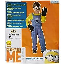 Illumination Entertainment - Disfraz Minion para niños, talla S (I-610490S)