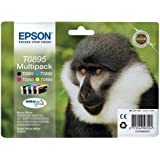 Epson C13T08954010 - T0895 Multipack - Black, yellow, cyan, magenta - original - blister - ink cartridge - for Stylus S21, SX100, SX105, SX115, SX215, SX218, SX400, SX405, SX415, Stylus Office BX300