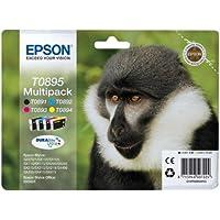 Epson T089540 T089140/440/340/240 4PACK Inkjet / getto d'inchiostro Cartuccia